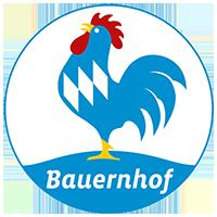 Logo Blauer Gockel Bauernhof