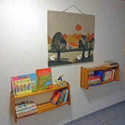 Kinderbibliothek im Haus