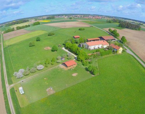 Luftaufnahme Ferienhof Birnbaum