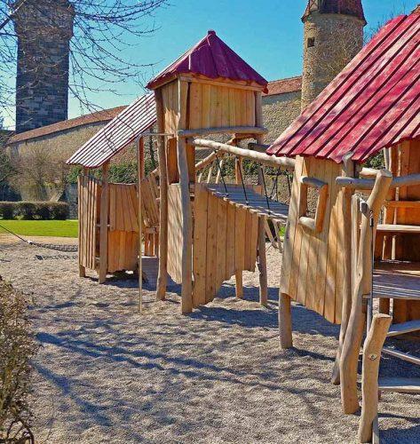 Spielplatz Rothenburg, Bayern