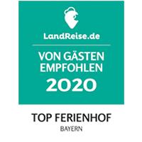 Auszeichnung birnbaum landreise top ferienhof 2020